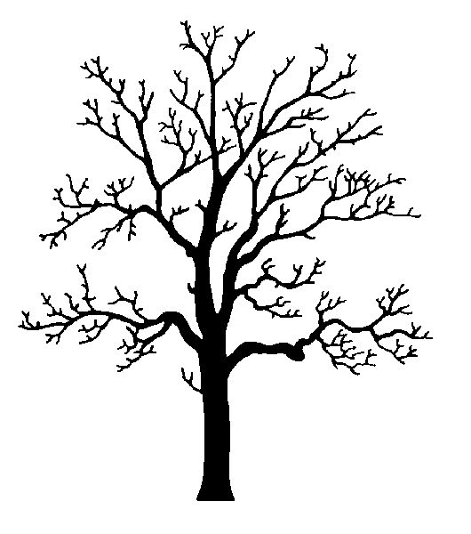 Healing clipart rooted tree Silhouette Pinterest Art only Oak
