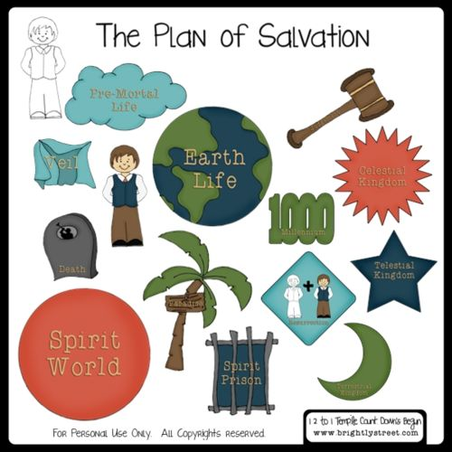 Healing clipart salvation Plan of this join lds