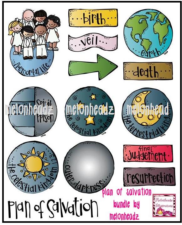 Healing clipart salvation By of LDS Plan melonheadz