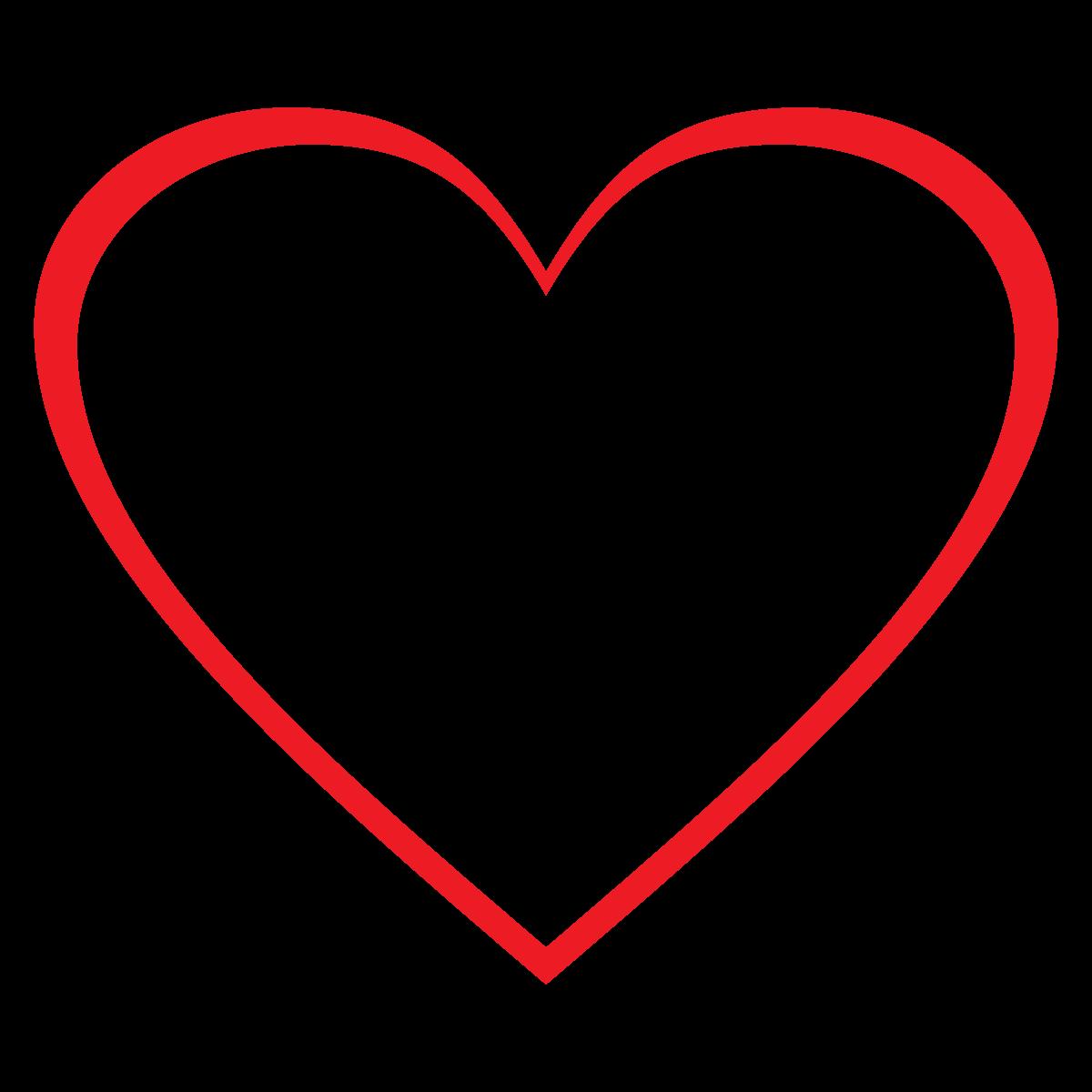 Hearts clipart heart outline Hearts Clipart Art Clip Clipart