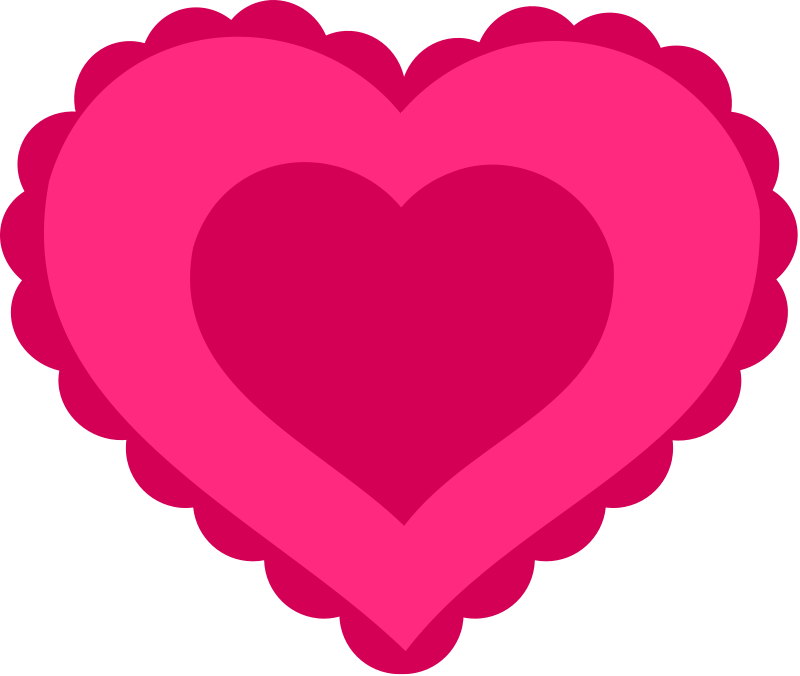 Heart-shaped clipart blank Lace Graphics Heart Love Heart