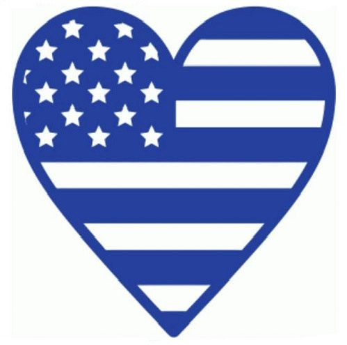 American Flag clipart simple Best AStitchofHappiness Heart 25+ American