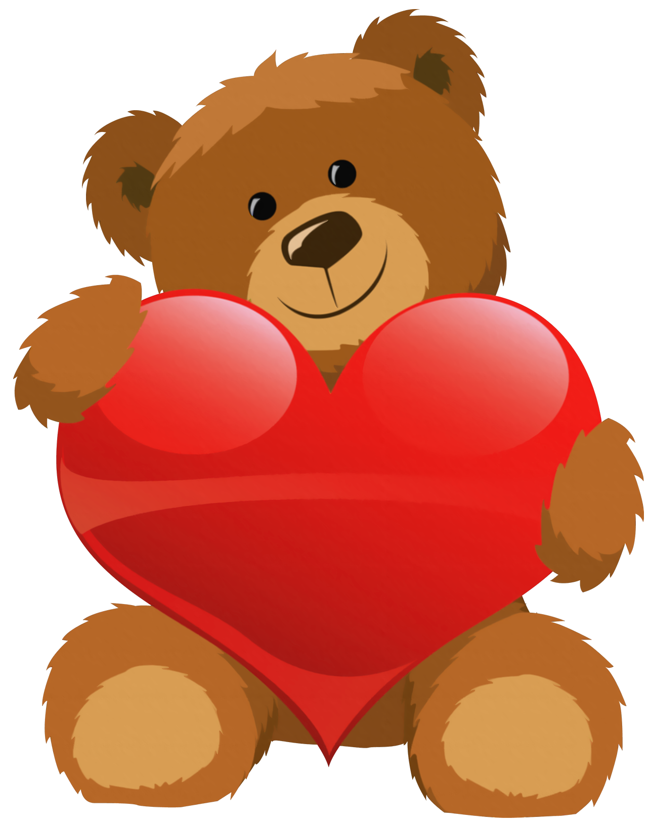 Hearts clipart bear Heart Resolution Clipart With