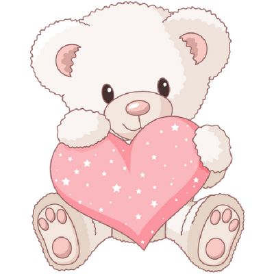 Adorable clipart toy bear Tags Bears Bears and Art