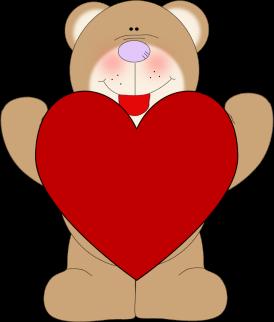 Hearts clipart bunch Clip Heart Bear bear a