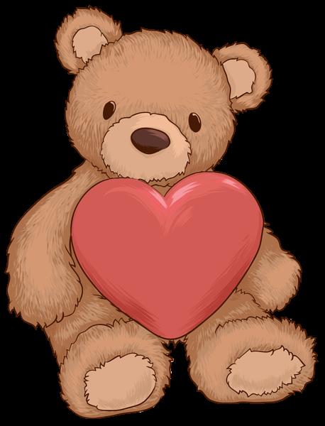 Hearts clipart bear With Gallery Heart Bear Teddy