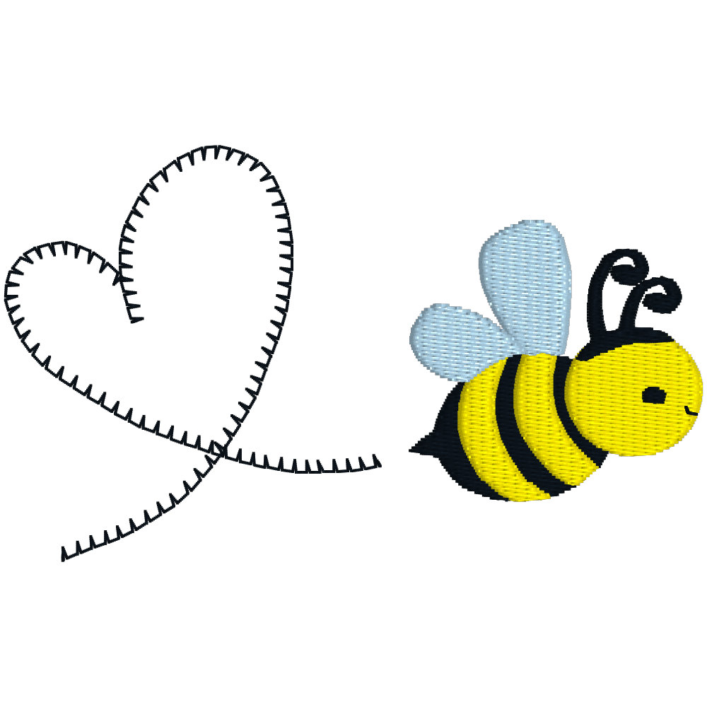 Hearts clipart trail BUY FREE Honey GET Embroidery