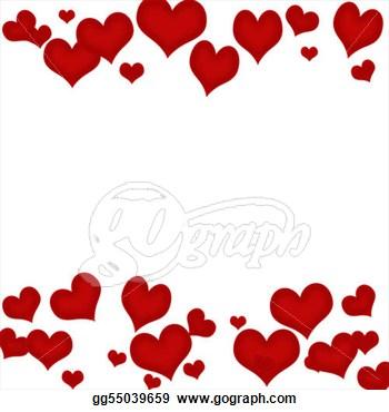 Hearts clipart border Heart organism%20clipart Clipart Art Free