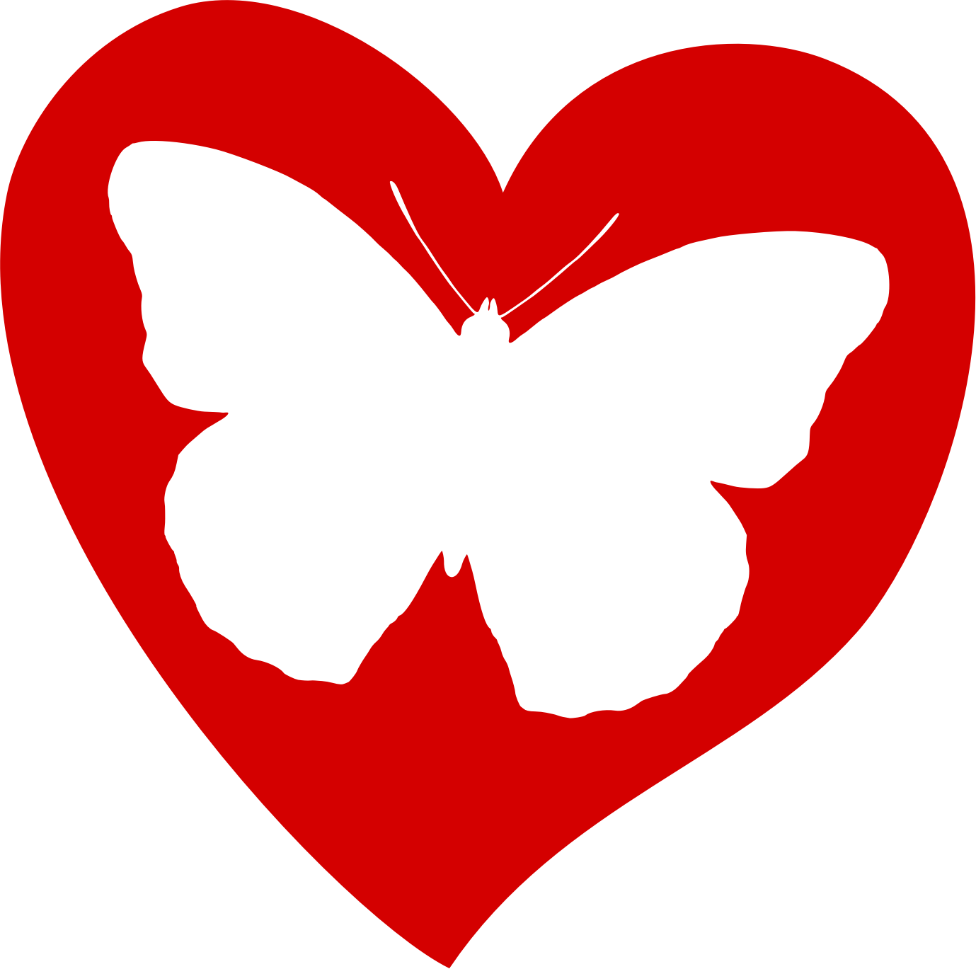 Butterfly clipart heart Clipart butterfly butterfly collection heart
