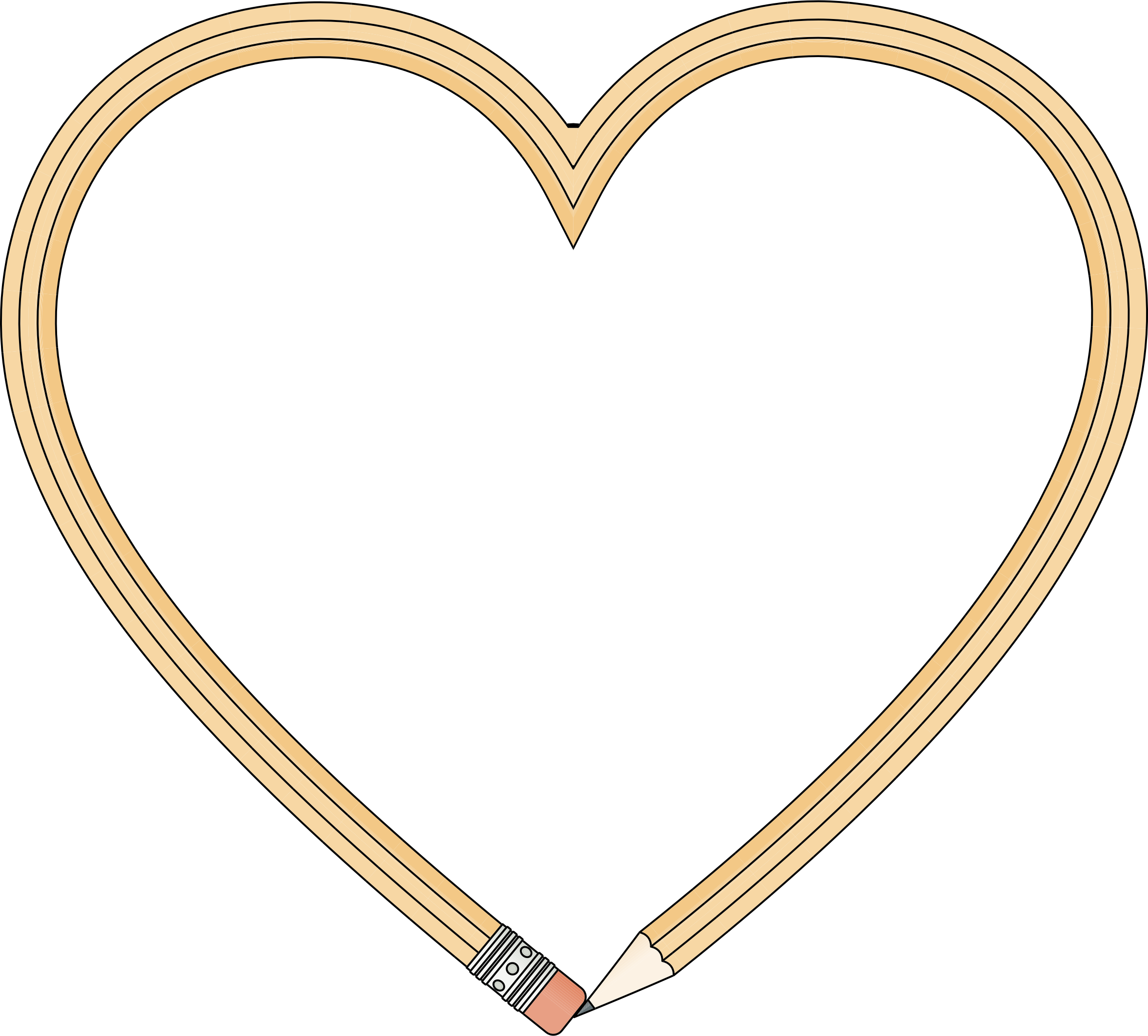 Pencil clipart heart Pencil Pencil Clipart Heart Heart