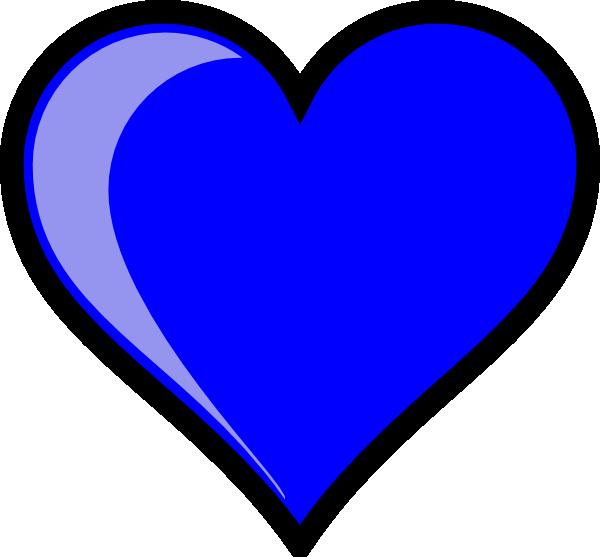 Blue clipart love heart Free blue%20heart%20clipart Blue Heart Clipart