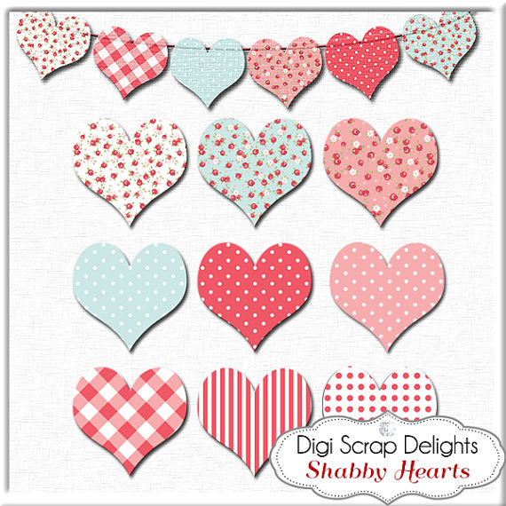 Hearts clipart heart banner Banner Sale: Banner Digital on