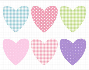 Hearts clipart baby pink Girl Clipart Hearts Scrapbooking cliparts
