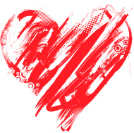 Hearts clipart scribbled Scribble (Page clip doodles heart