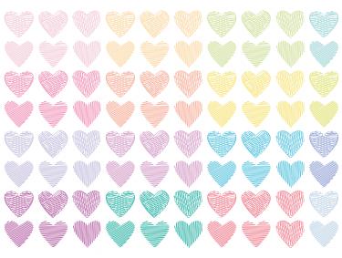 Hearts clipart scribbled Clip Doodle ClipArt Hearts Hearts