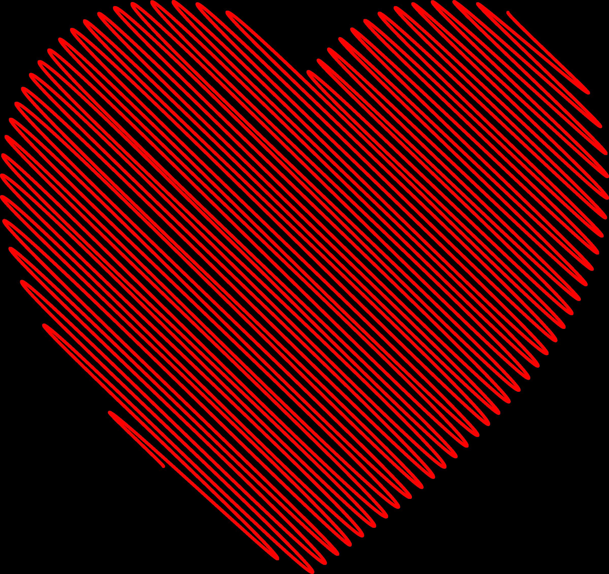 Hearts clipart scribbled Scribble Heart Scribble Clipart Heart