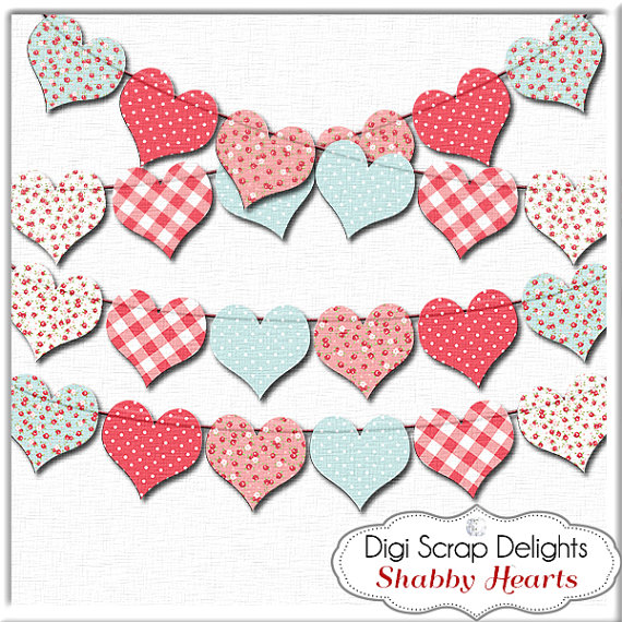 Hearts clipart heart banner Hearts a Art Banner is