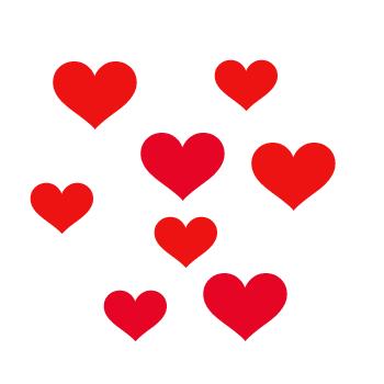 Hearts clipart tiny heart On Art Heart Download Small