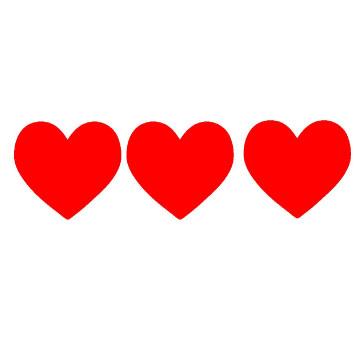 Hearts clipart mini heart On Art Clip Free Up