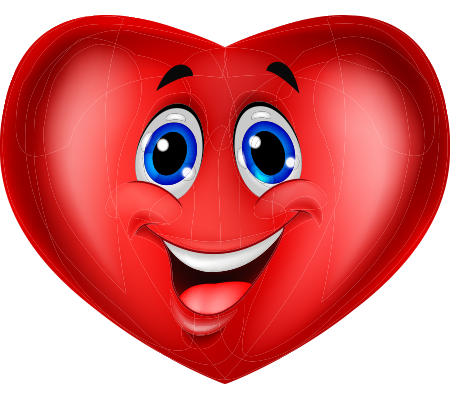 Hearts clipart smiley face Eyed Emoticon and Blue Eyed