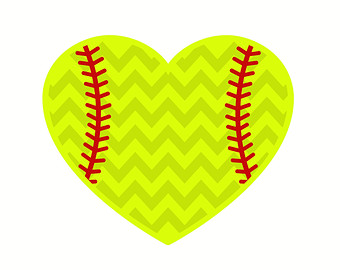 Hearts clipart softball Background clipart Softball Cliparts Cliparts