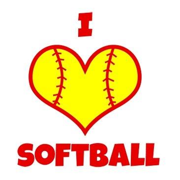 Hearts clipart softball Cliparts Clipart Navy Softball Cliparts