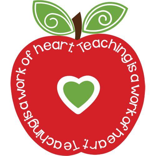 Hearts clipart apple Teaching Freebie Burton a Pinterest