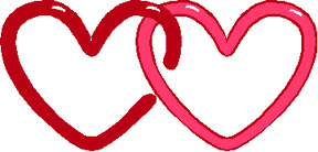 Hearts clipart two heart  Clipart Hearts Heart Design