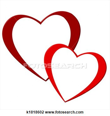 Hearts clipart two heart Two%20red%20hearts%20clipart Free Hearts Clipart Images