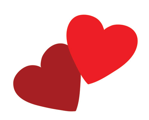Broken Heart clipart linked Decorations A and Clipart Hearts