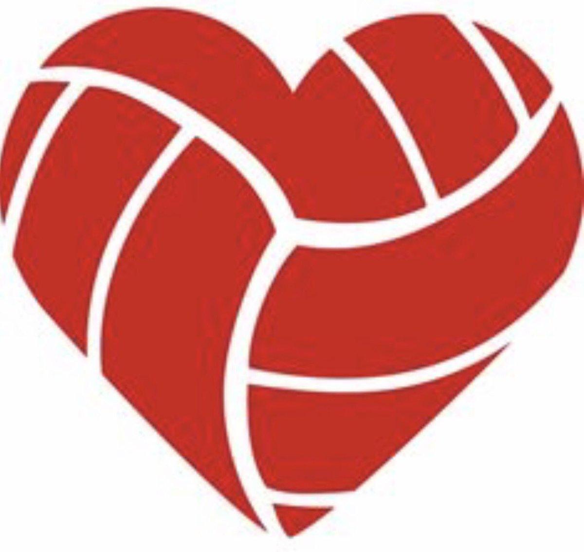 Heart clipart volleyball Twitter 0 replies 5 NC