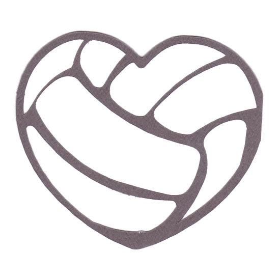 Hearts clipart volleyball Heart Volleyball Clipart  Heart