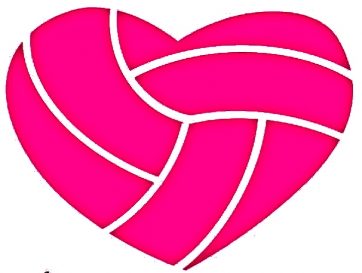 Heart clipart volleyball Be Sydneyjoto  Give A