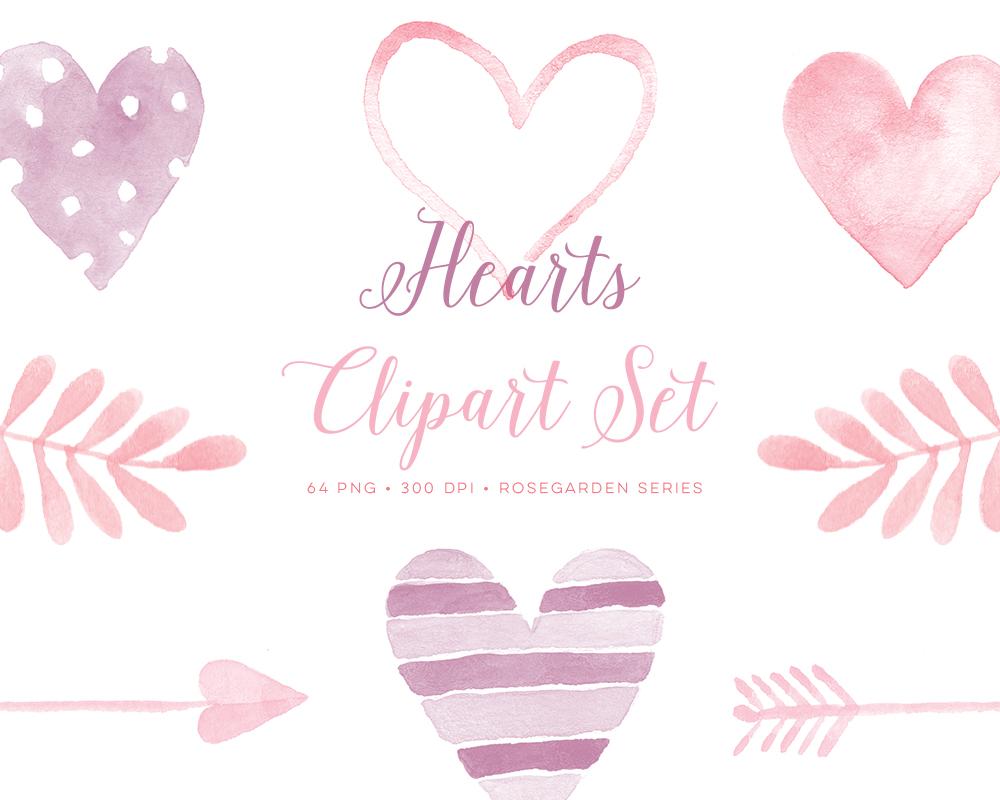 Heart clipart hot air balloon Arrows Heart love Graphics Watercolor
