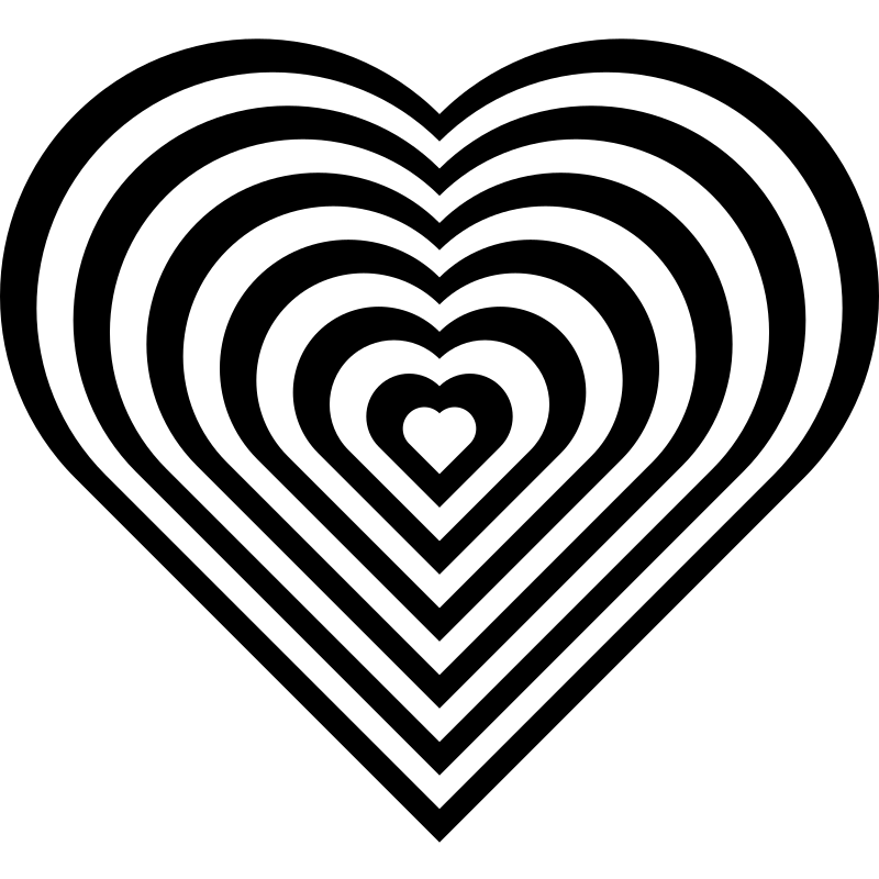 Zebra clipart hearts IMAGE zebra heart Clipart (PNG)