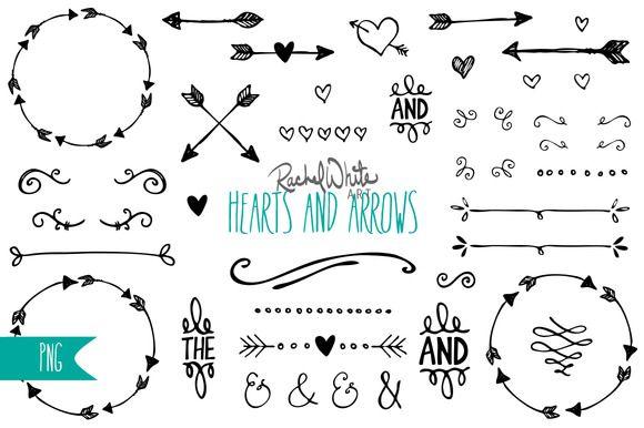 Hearts clipart arrow clip art This collection arrow double Arrow