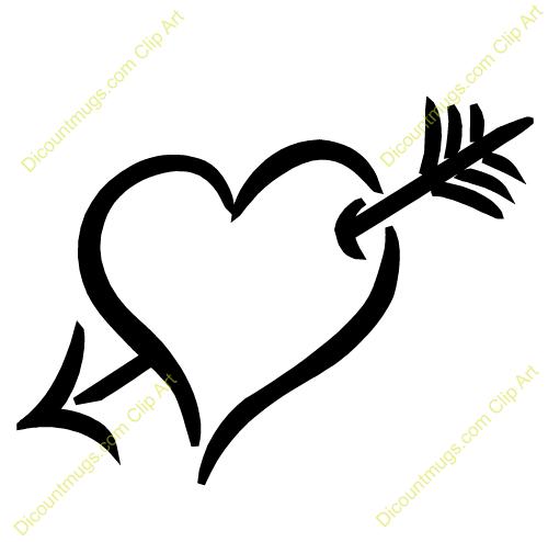 Hearts clipart arrow clip art With clipart art Arrow Clipart