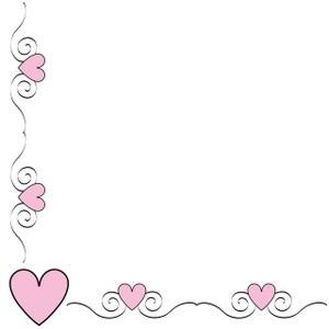 Hearts clipart border Clipart Hearts Polyvore Heart 6