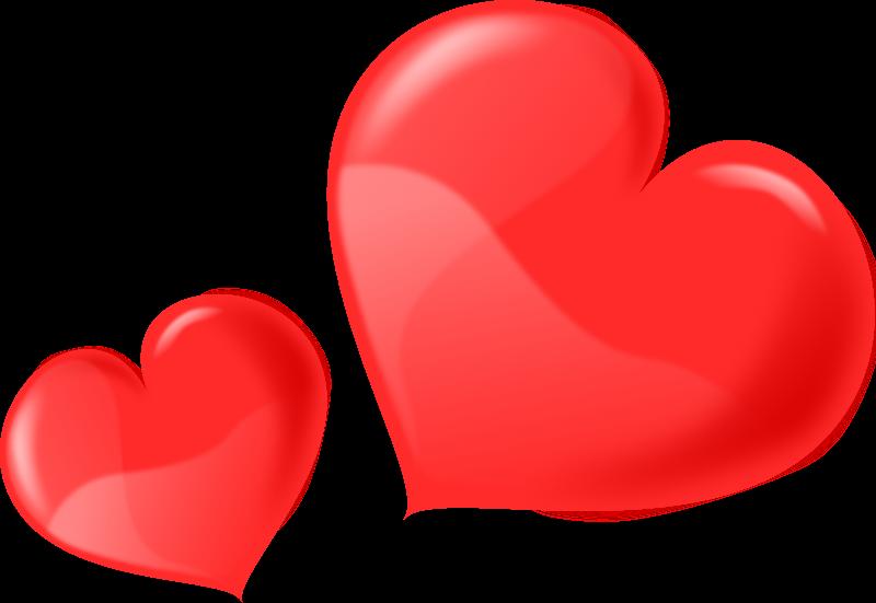 Hearts clipart bunch  a romantic Amulet romantic