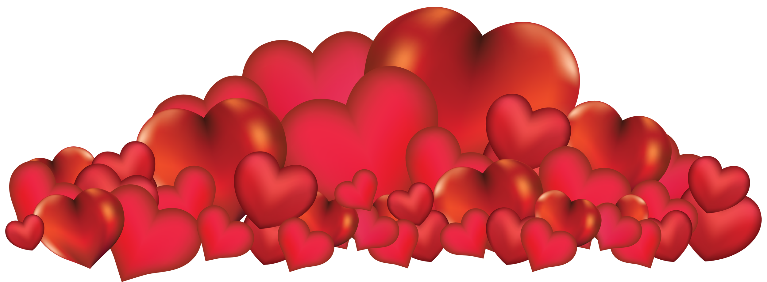 Hearts clipart bunch Full Yopriceville PNG size