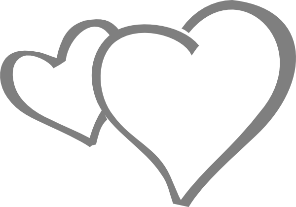 Hearts clipart double heart Clker  as: art this