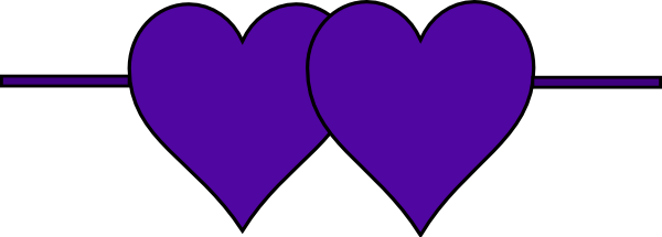 Hearts clipart double heart Art online as: vector this