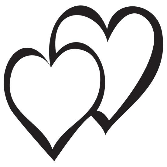 Hearts clipart double heart Art heart Heart Clipart clipart
