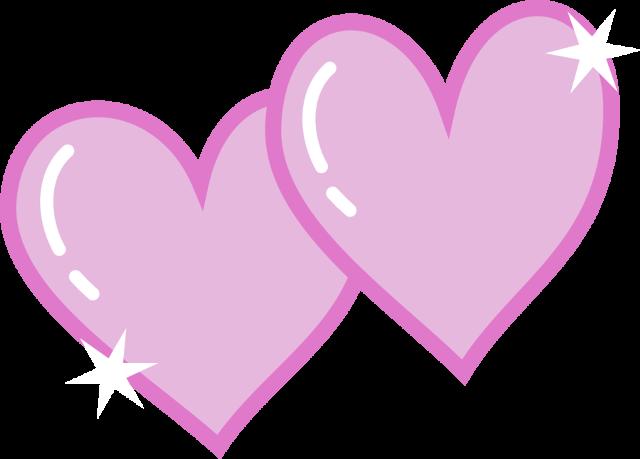 Hearts clipart double heart Double Double Heart Art clipart