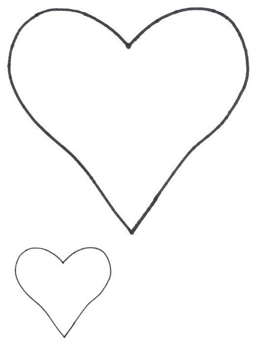Hearts clipart joined Applique to Free Shapes as