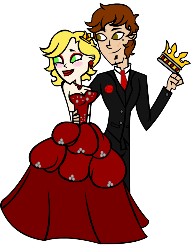 Hearts clipart king and queen  of of Queen King