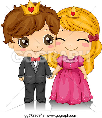 Hearts clipart king and queen Hearts of and Stock Queen