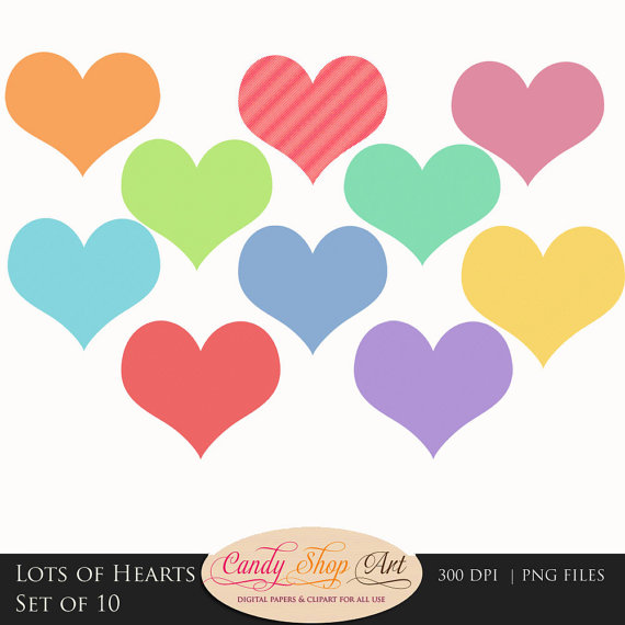 Hearts clipart lot Images Clip Clipart Lots Free