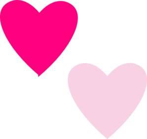 Hearts clipart pink heart Clipart Light Clipart Heart Images