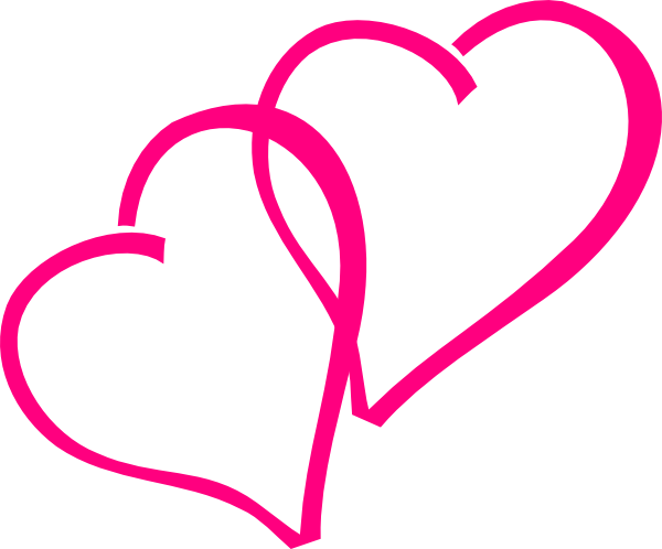Hearts clipart pink heart Hot this clip Clker Pink